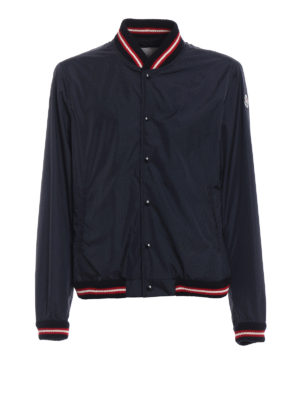 Moncler: bombers - Dubost nylon bomber jacket