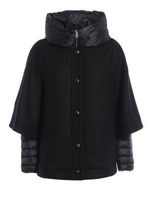 Moncler: Capes &  Ponchos - Eudore wool cape