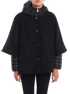 Moncler: Capes &  Ponchos online - Eudore wool cape