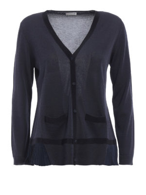 Moncler: cardigans - Cotton blend cardigan