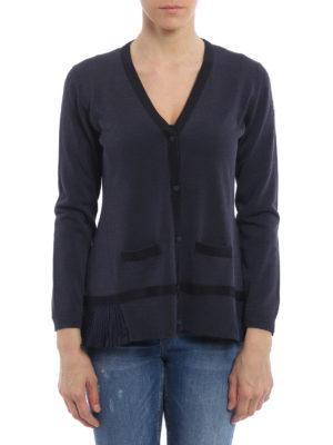 Moncler: cardigans online - Cotton blend cardigan