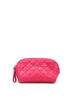 Moncler: Cases & Covers - Medium quilted beauty case