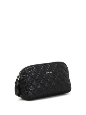 Moncler: Cases & Covers online - Quilted nylon large beauty case