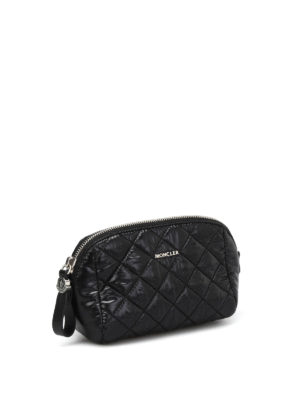 Moncler: Cases & Covers online - Quilted nylon medium beauty case