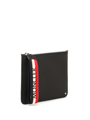 Moncler: Cases & Covers online - Super Mon Moncler zipped pouch