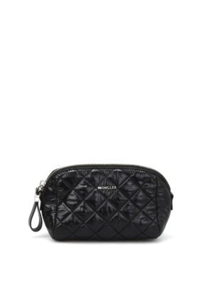 Moncler: Cases & Covers - Quilted nylon medium beauty case