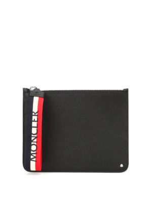 Moncler: Cases & Covers - Super Mon Moncler zipped pouch