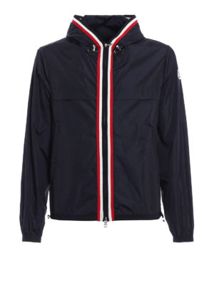 Moncler: casual jackets - Anton wind-proof hooded jacket