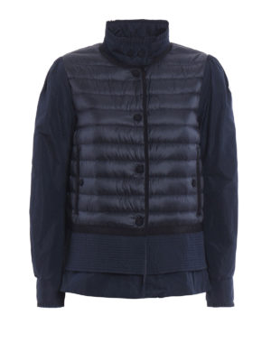 Moncler: casual jackets - Cereste slightly padded jacket