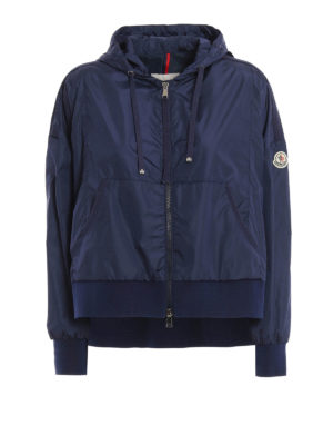 Moncler: casual jackets - Comte chillproof asymmetric jacket