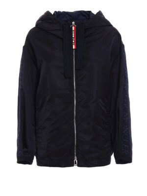 Moncler: casual jackets - Cordier egg-shaped nylon jacket