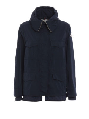 Moncler: casual jackets - Eclair multipocket jacket