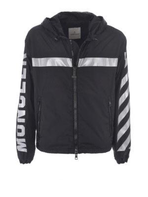 Moncler: casual jackets - Gangui reflective jacket