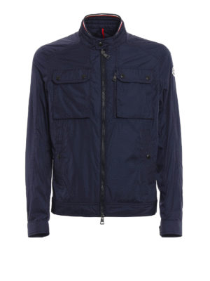 Moncler: casual jackets - Levens wind proof bomber jacket