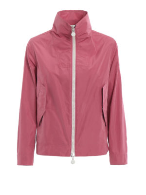 Moncler: casual jackets - Marylin antique pink windbreaker