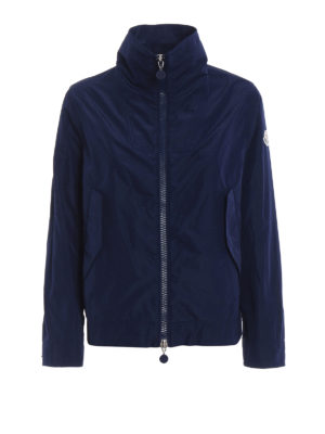 Moncler: casual jackets - Marylin blue windbreaker