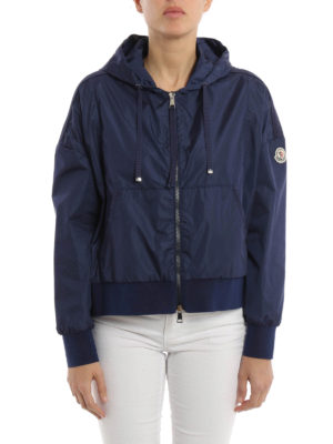 Moncler: casual jackets online - Comte chillproof asymmetric jacket