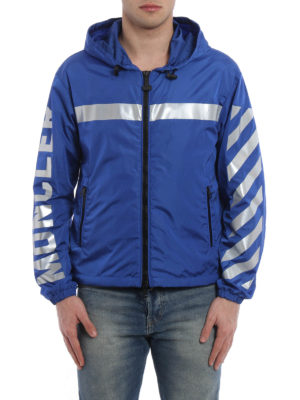 Moncler: casual jackets online - Gangui jacket by Off-White