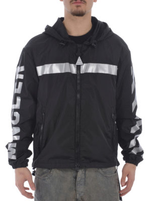 Moncler: casual jackets online - Gangui reflective jacket