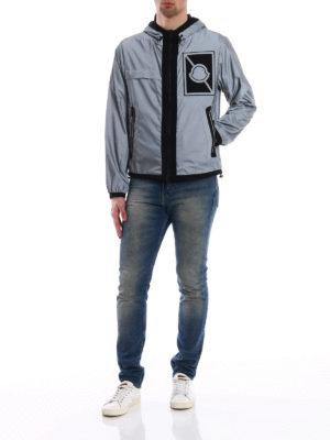 Moncler: casual jackets online - Gauss reflective jacket