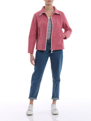 Moncler: casual jackets online - Marylin antique pink windbreaker