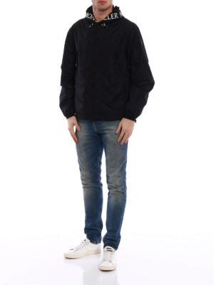 Moncler: casual jackets online - Massereau black jacket