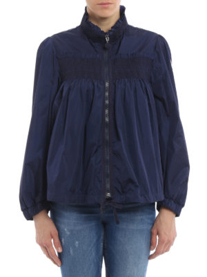 Moncler: casual jackets online - Suze embroidered ruffled jacket