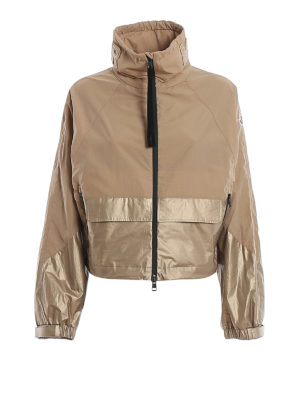 MONCLER: casual jackets - Pervenche jacket