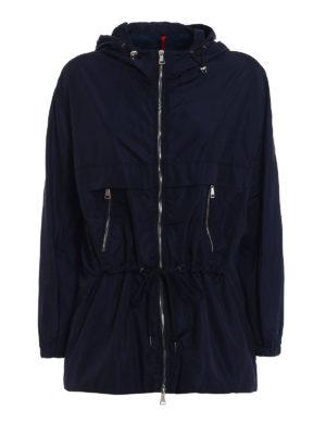 Moncler: casual jackets - Sanvel blue jacket