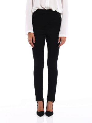 Moncler: casual trousers online - Technical fabric trousers