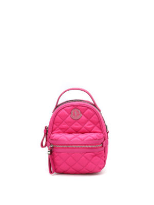 Moncler: cross body bags - Georgine quilted nylon crossbody