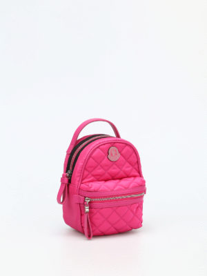 Moncler: cross body bags online - Georgine quilted nylon crossbody