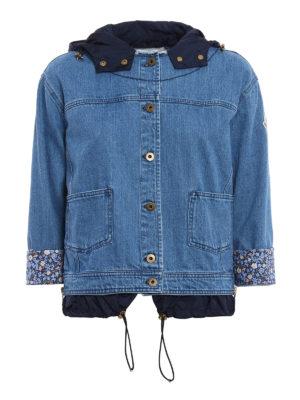 Moncler: denim jacket - Joubarde denim jacket