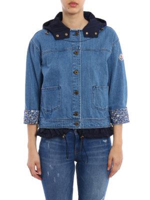 Moncler: denim jacket online - Joubarde denim jacket