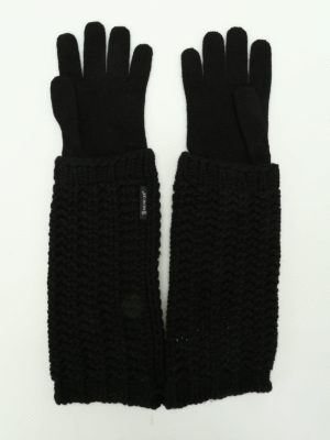Moncler: gloves online - Wool and cashmere gloves