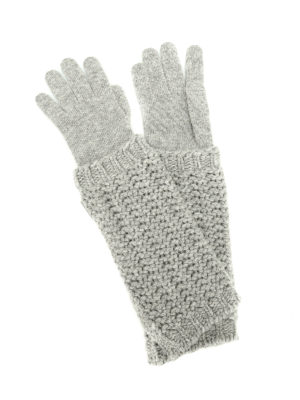 Moncler: gloves - Wool and cashmere gloves
