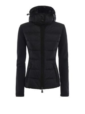 MONCLER GRENOBLE: giacche casual - Giacca in nylon e tessuto stretch e cappuccio
