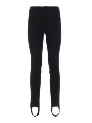 MONCLER GRENOBLE: pantaloni casual - Comodi pantaloni stretch con staffe