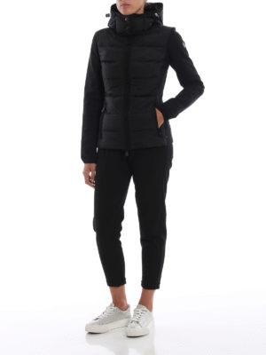 MONCLER GRENOBLE: giacche casual online - Giacca in nylon e tessuto stretch e cappuccio