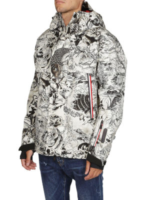 MONCLER GRENOBLE: giacche casual online - Giacca stampata in tessuto tecnico