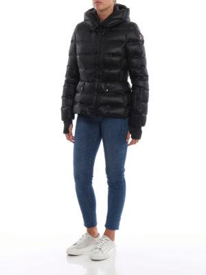 MONCLER GRENOBLE: giacche imbottite online - Piumino Armotech nero con cappuccio
