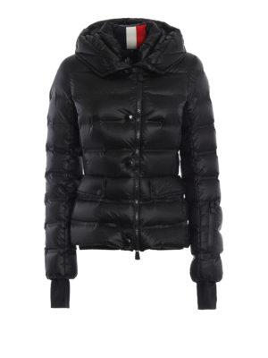 MONCLER GRENOBLE: giacche imbottite - Piumino Armotech nero con cappuccio