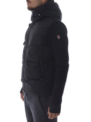 Moncler Grenoble: padded jackets online - Après-ski nylon and wool jacket