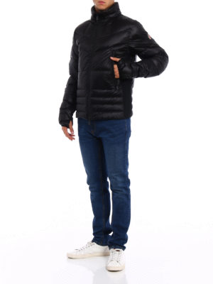 Moncler Grenoble: padded jackets online - Canmore black down jacket