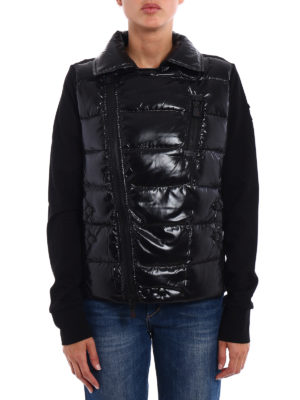 Moncler Grenoble: padded jackets online - Padded front techno jacket