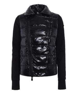 Moncler Grenoble: padded jackets - Padded front techno jacket