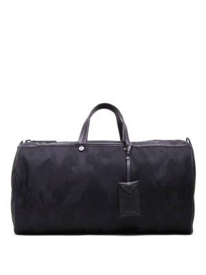 Moncler: Luggage & Travel bags - New Bertrand camu duffle bag