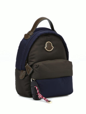 MONCLER: zaini online - Mini zaino Juniper in nylon bicolore