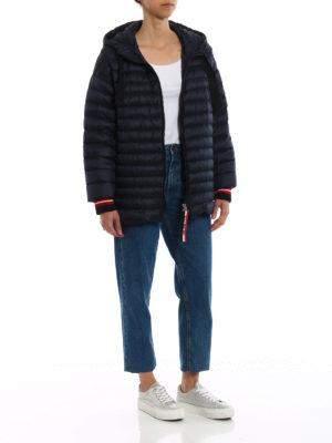 MONCLER: giacche imbottite online - Piumino Benitoite con maxi coulisse
