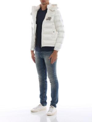 MONCLER: giacche imbottite online - Piumino Bramant bianco